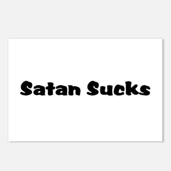Satan Sucks Postcards (Package of 8)