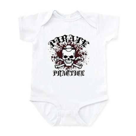 Pirate Practice Infant Bodysuit