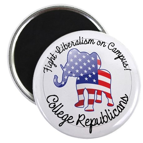 """Fight Liberalism on Campus 2.25"""" Magnet (10 pack)"""