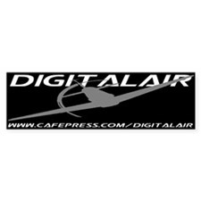 DIGITALAIR WEAR Bumper Bumper Sticker