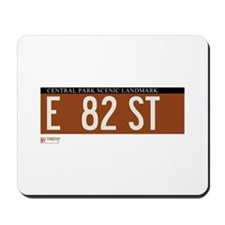 82nd Street in NY Mousepad