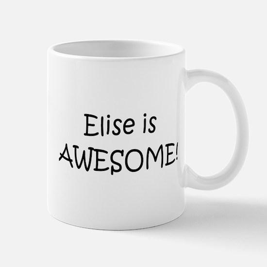 Unique Elise Mug