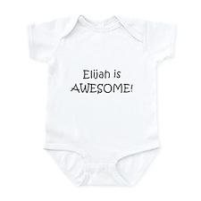 Cute Elijah Infant Bodysuit