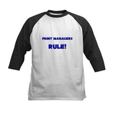 Print Managers Rule! Tee