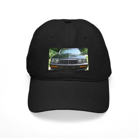 Grand Nat Front Black Cap