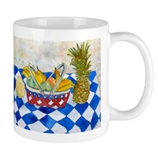 still life fruit basket moder Mug