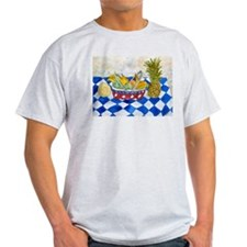 still life fruit basket moder T-Shirt