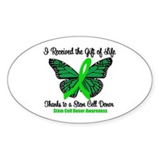I Received SCT Gift of Life Oval Decal