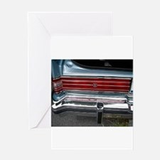 Buick Electra Tail Light Greeting Card