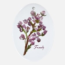 Scottish Heather Keepsake (Oval)