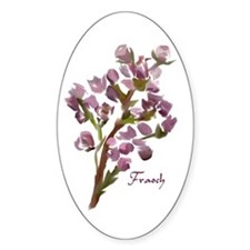 Scottish Heather Oval Decal