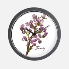 Scottish Heather Wall Clock