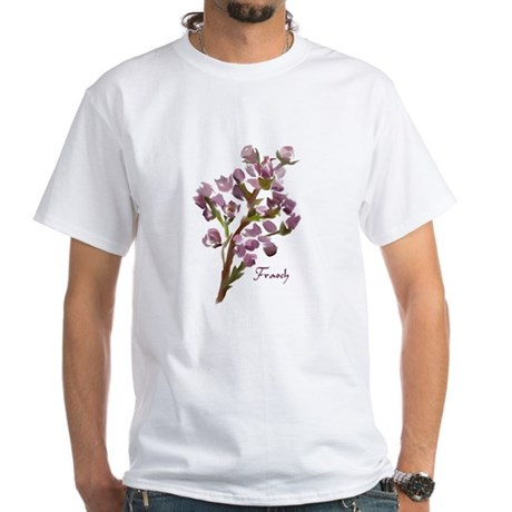 Scottish Heather White T-Shirt