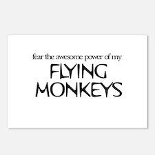 Flying Monkeys Postcards (Package of 8)