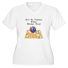 Monday Mad Flaming Bowling Ball T-Shirt