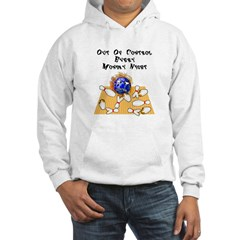 Monday Mad Flaming Bowling Ball Hoodie