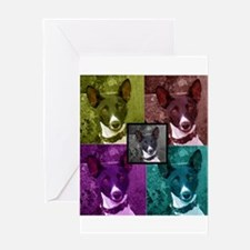 Basenji Greeting Card