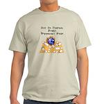 Wed. Mad Flaming Bowling Ball Light T-Shirt