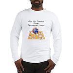 Wed. Mad Flaming Bowling Ball Long Sleeve T-Shirt
