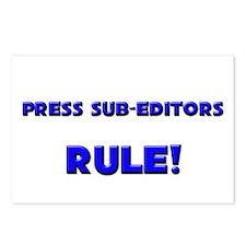 Press Sub-Editors Rule! Postcards (Package of 8)