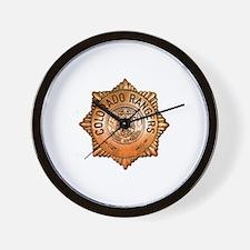 Colorado Rangers Wall Clock
