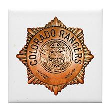 Colorado Rangers Tile Coaster