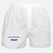 Press Photographers Rule! Boxer Shorts