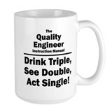 Quality engineer Large Mugs (15 oz)