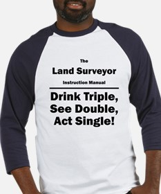 Land Surveyor Baseball Jersey
