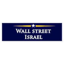 McCain/Palin Wall Street/Israel Bumper Bumper Bumper Sticker