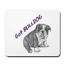 Bulldog Mousepad -the original