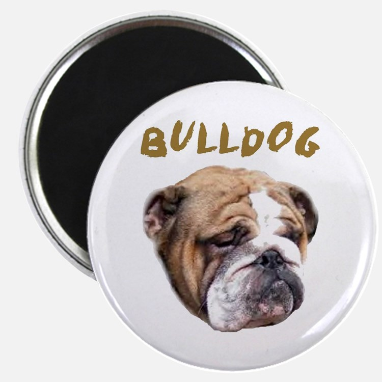 Cute Bulldog sayings Magnet