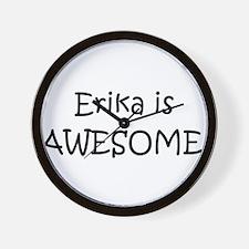 Erika Wall Clock
