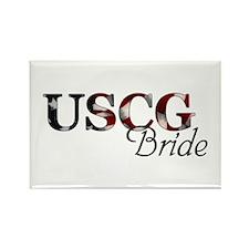 USCG Bride (Flag) Rectangle Magnet