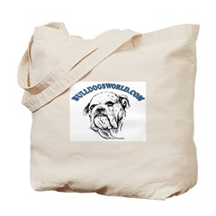 Blue Logo Tote Bag