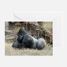 Gorilla 006 Greeting Card