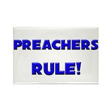 Preachers Rule! Rectangle Magnet
