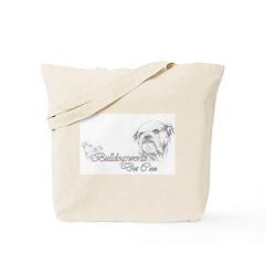 Grey Logo Tote Bag