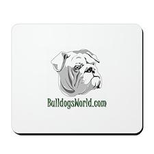 Green Logo Mousepad
