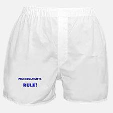 Praxeologists Rule! Boxer Shorts