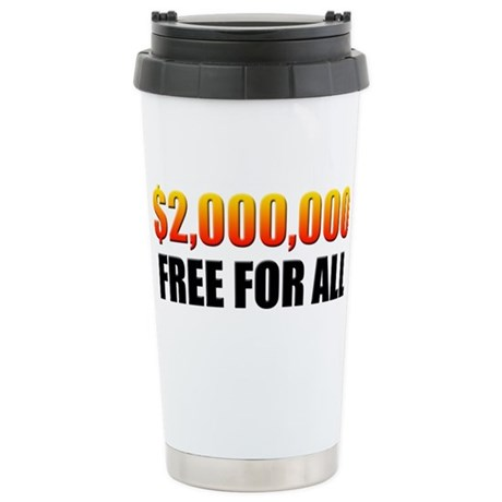 Free For All Stainless Steel Travel Mug