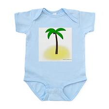 Palm Tree Tropics Infant Creeper