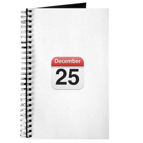 Apple iPhone Calendar December 25 Journal