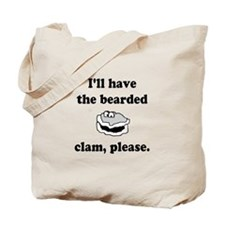 Bearded Clam Tote Bag