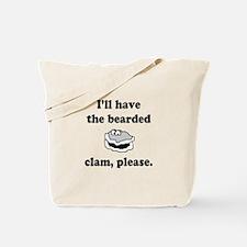 Bearded Clam Tote Bag