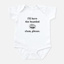 Bearded Clam Onesie