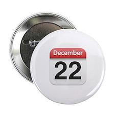 "Apple iPhone Calendar December 22 2.25"" Button (10"