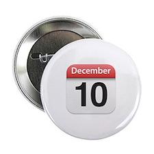 "Apple iPhone Calendar December 10 2.25"" Button (10"