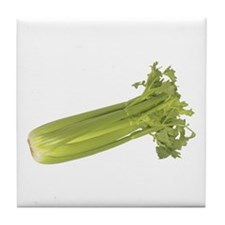 Some Celery On Your Tile Coaster