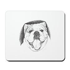 Pencil Portrait Mousepad